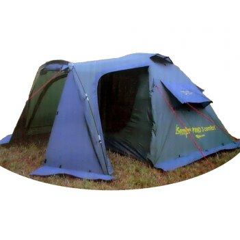 Палатка туристическая canadian camper rino 3 comfort (цвет forest)