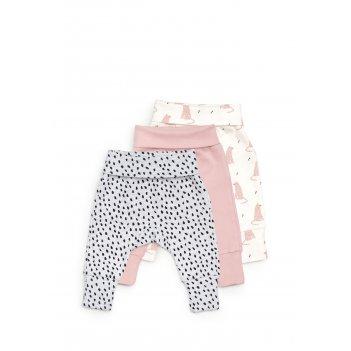 Трикотажные брюки (набор 3 шт.) size 80