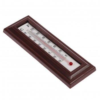 Термометр спиртовой комнатный n-60210, пластик