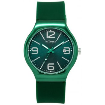 Часы унисекс intimes it-088 green