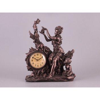Часы девушка высота=31 см длина=25 см карт.уп. (...