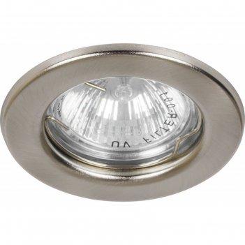 Встраиваемый светильник dl10/dl3201, mr16, 50w, цвет титан, d=60мм