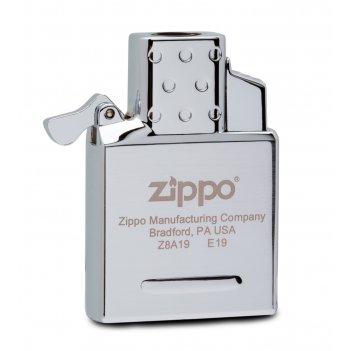 Газовый вставной блок для широкой зажигалки zippo, одинарное пламя, нержав