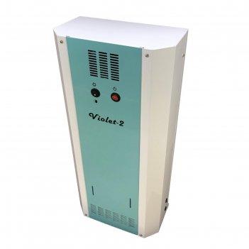 Облучатель-рециркулятор бактерицидный violet - 2, 30вт (15*2), цвет белый