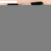 Набор атласных лент, 10шт, размер 1 ленты: 12мм, 5,4±1м, цвет чёрный