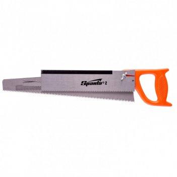 Ножовка по дереву, 350 мм, 5 сменных полотен, пластиковая рукоятка sparta
