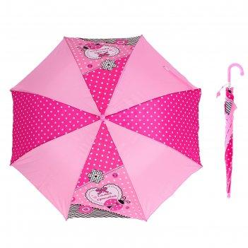 Зонт детский самая красивая полуавтомат 8 спиц d=87см со свистком