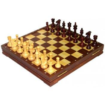 Rtc-9729 шахматы классические деревянные утяжеленные 43х43см