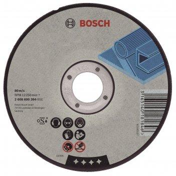 Круг отрезной по металлу bosch 2608603528, best for metal, прямой, 180x2,5