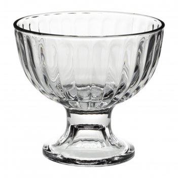 Миска десертная, прозрачное стекло дистрикт