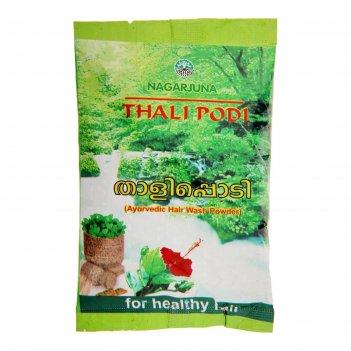 Шампунь-убтан (сухой) для волос, nagarjuna thali podi, 50 г