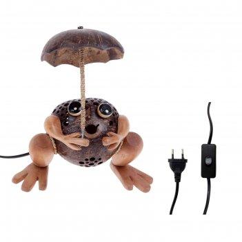 Светильник лягушка, 220v е12