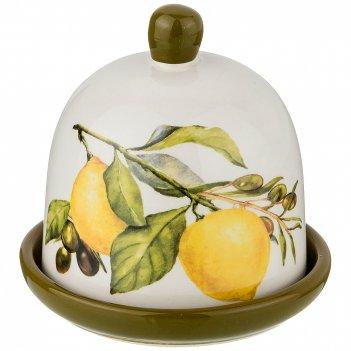 Лимонница лемон три 9*9 см. высота=9 см. (кор=60шт.)