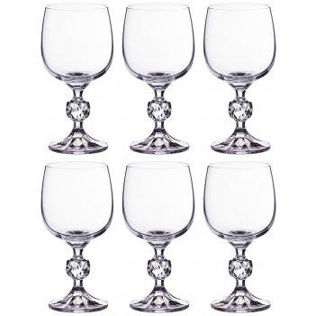 Набор бокалов для вина из 6 шт. клаудия 190 мл.в...