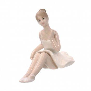 Фигурка декоративная балерина, l12 w7 h9 см