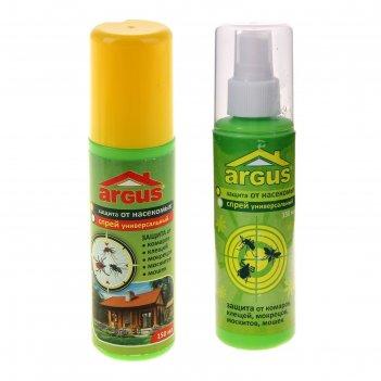 Лосьон-спрей argus универсальный от комаров, клещей, мокрецов, слепней 150