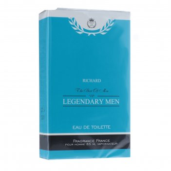 Туалетная вода для мужчин legendary men richard, 85 мл