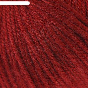 Пряжа семицветик 100% акрил 100гр/180м (091 вишня)