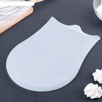 Мешок для замешивания теста 35x22 см бронк, цвет белый
