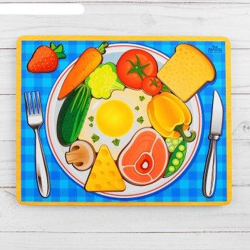 Головоломка логическая завтрак, 20 х 25 см