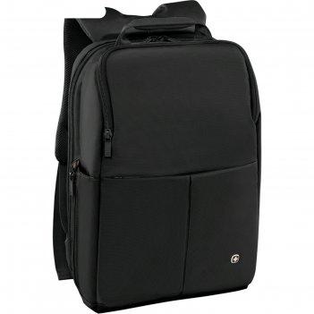 Рюкзак wenger 14, чёрный, 28x17x42 см, 11 л