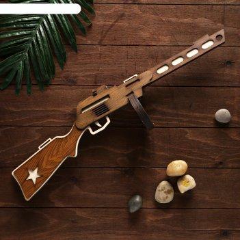 Сувенирное оружие автомат ппш большой, собранный 64x17 см
