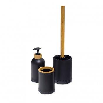 Набор для ванной комнаты zen черный