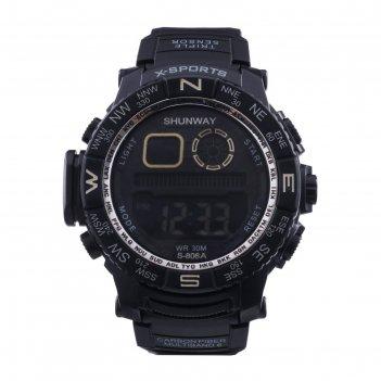 Часы наручные электронные shunway s-806a, d=5 см, микс
