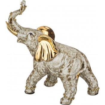 Статуэтка слон 20*10 см. высота=26 см. (кор=12шт.)