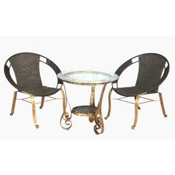Комплект мебели из искусственного ротанга гармония
