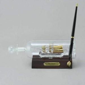 Корабль в бутылке d 65мм с ручкой ти клиппер