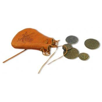 De-715 мешочек с монетами