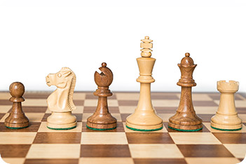 Шахматные фигуры стаунтон монарх индия король 9см
