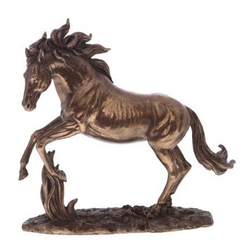 Фигурка декоративная лошадь, h29 см