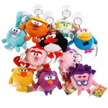 Мягкая игрушка «смешарики. брелок-подвеска-присоска», 7 см, цена за одну ш