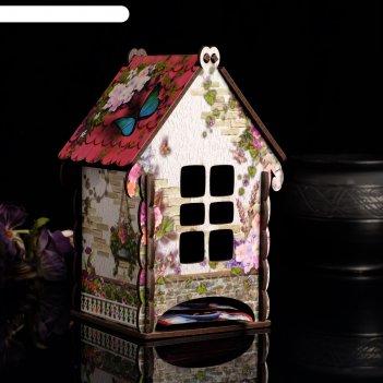 Чайный домик белая изба