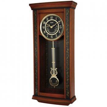 Настенные часы с маятником и боем восток н-9729