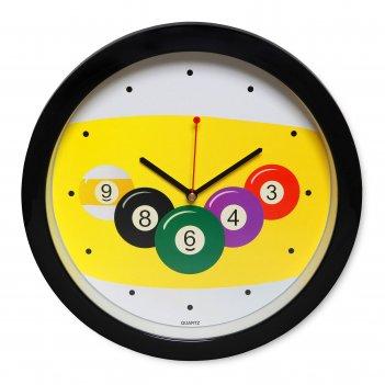 Часы бильярд sn5024 ?29,5см