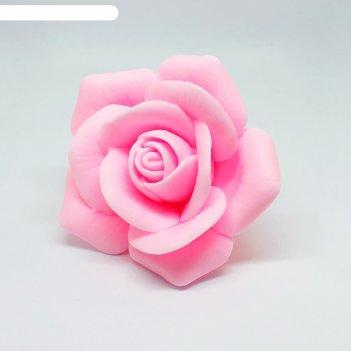 Силиконовая форма для мыла роза фараона