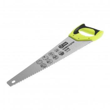 Ножовка по дереву on 03-01-003, двусторонняя заточка, зуб 5 мм, 450 мм