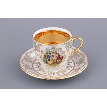 Чайный набор на 1 персону 2 пр.мадонна 250 мл.
