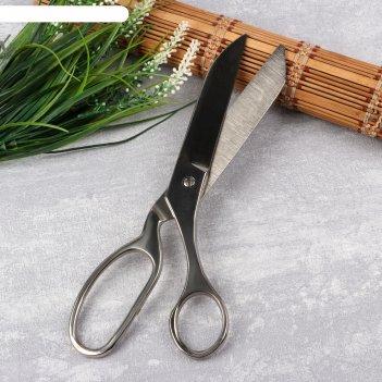Ножницы портновские, 25 см, цвет серебристый