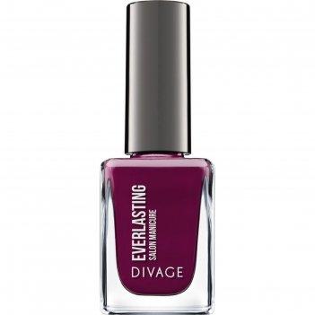 Гелевый лак для ногтей divage nail polish everlasting g, тон № 18