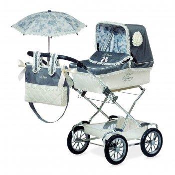 Коляска с сумкой и зонтиком для куклы реборн, 90 см