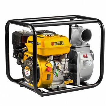 Мотопомпа бензиновая для чистой воды px-80, 7 л.с, 3, 1000 л/мин, глубина