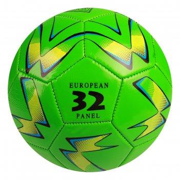 Мяч футбольный, размер 5, 32 панели, pvc, 2 подслоя, машинная сшивка, 260