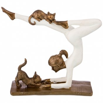 Статуэтка йога серия фьюжн 18,5*6,5*15 см.