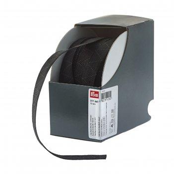 Стандартная эластичная лента плетеная 20 мм*25м, цвет черный