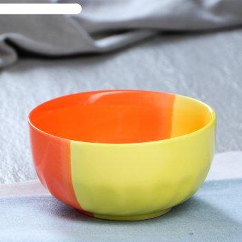 Салатник желто-оранжевый 0,50л