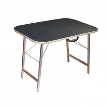 Стол для груминга складной до 100 кг, 86 х 60,5 х 62 см, покрытие резина н